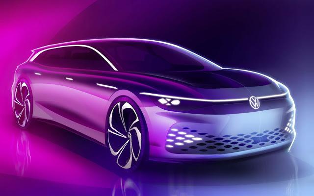 VW Space Vizzion: primeiras imagens oficiais divulgadas